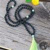 Knotted Mala- Onyx