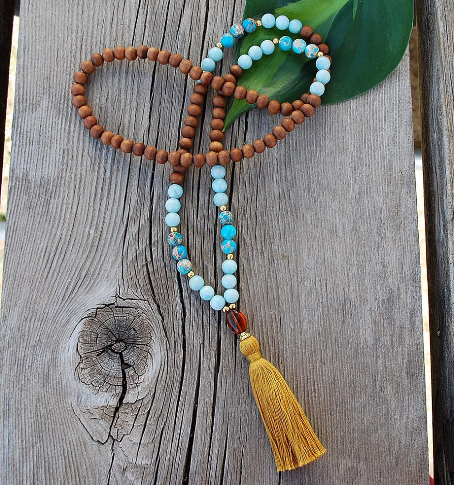leo mala prayer beads