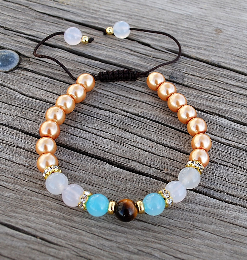 libra mala beads