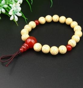 Japanese Wrist Mala Lotus Gift Boxed