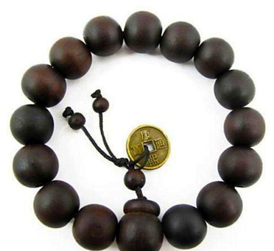 luck coin bracelet