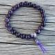 mala bracelet amethyst