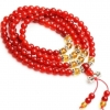 Mini Mala- Carnelian and Citrine
