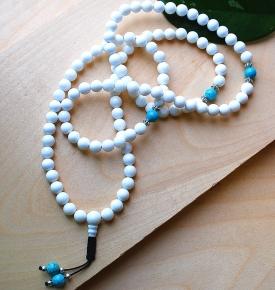 White Jade & Turquoise