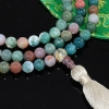 Green Jasper Mala Beads