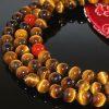 mala beads closeup
