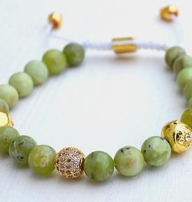 olive jade dorjes