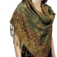 pashmina peacock shawl