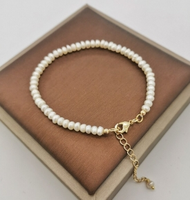 pearl goldfilled bracelet