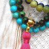 ruby zoisite prayer beads