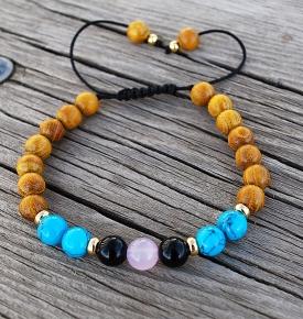 sagittarius mala bracelet