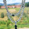 sapphire prayer beads