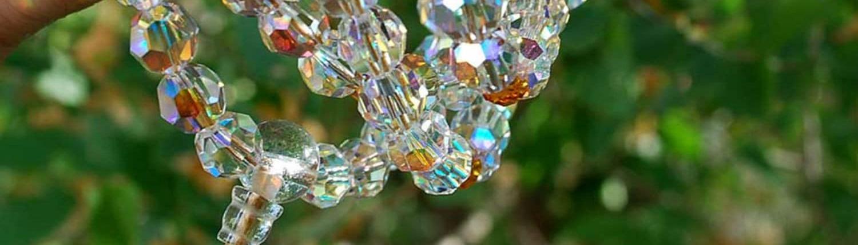 swarovski mala beads