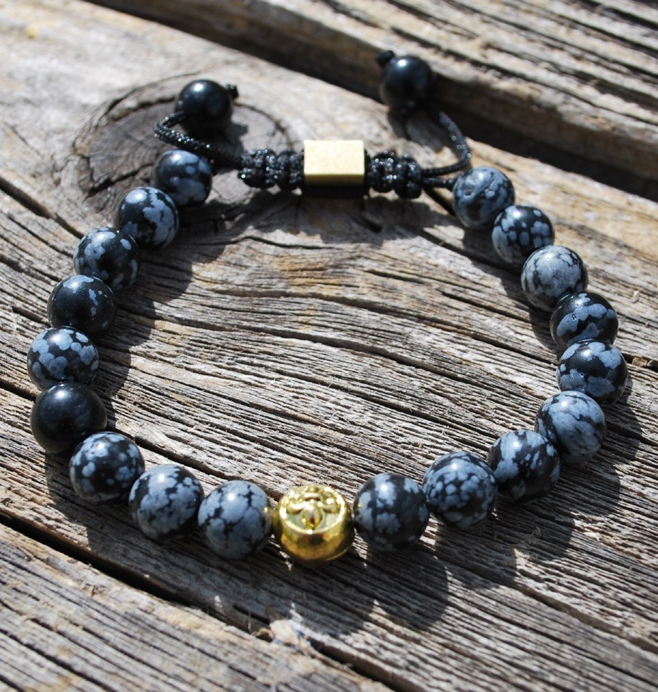 Tibetan Healing Bracelet-Snowflake