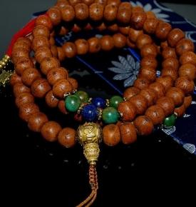 Tibetan Bodhi Jade & Lapis