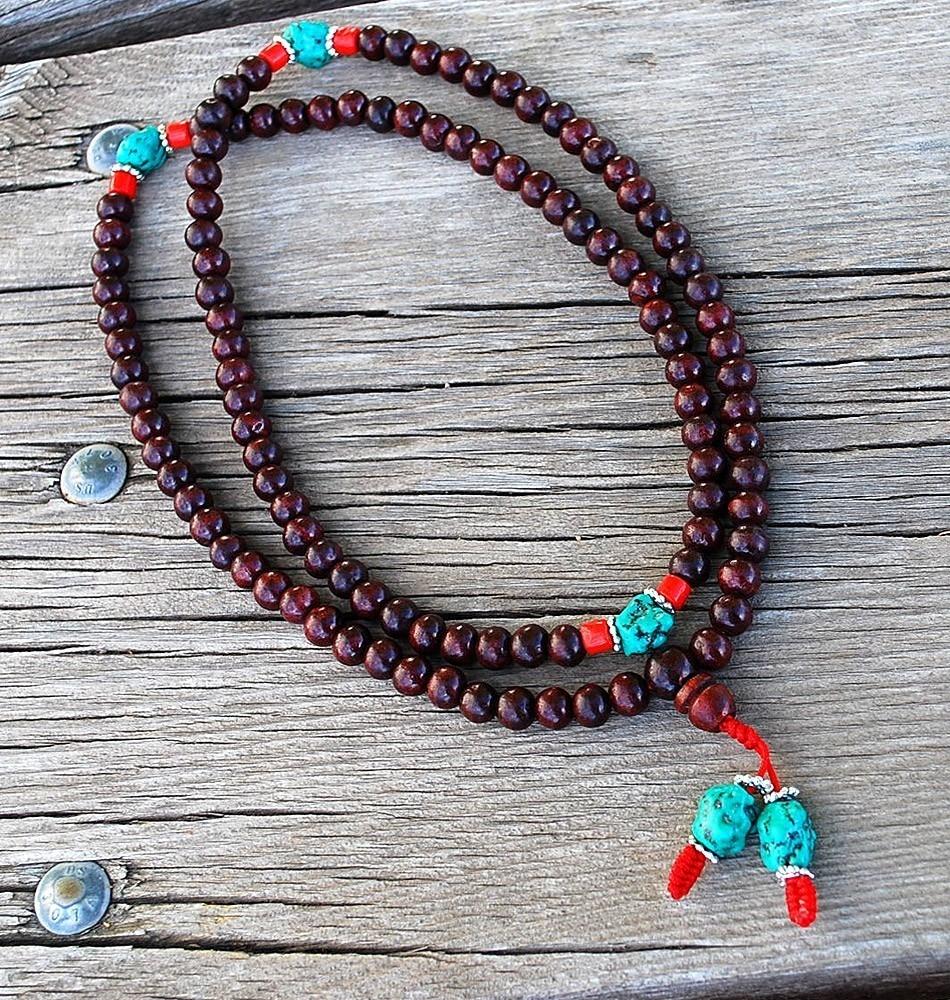 tibetan rosewood mala