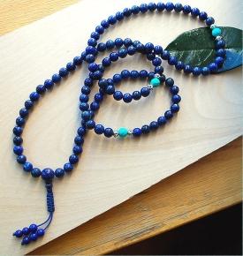 Lapis Lazuli & Turquoise High Grade Mala