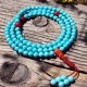 Turquoise and Coral Mala Beads