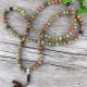 Unakite Buddhist Prayer Beads