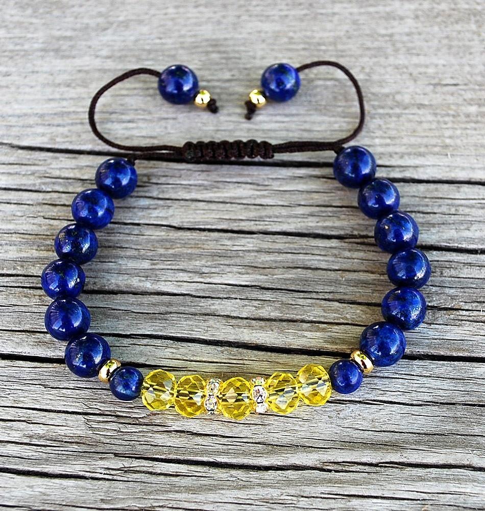 virgo mala bracelet
