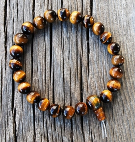 Wrist Malas Tiger's Eye