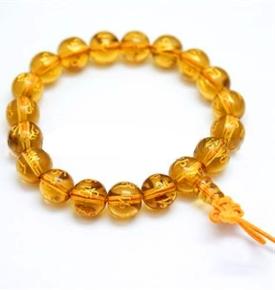 Wrist Mala Golden Mani