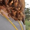yellow jade 108 beads