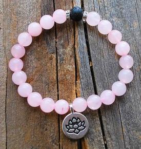 rose diffuser bracelet