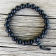 onyx mala bracelet