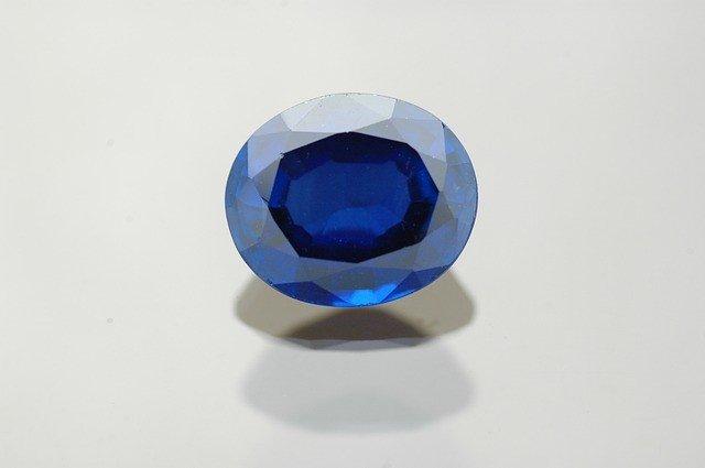 sapphire mala