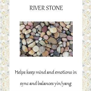 river stone info
