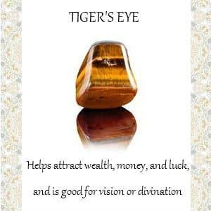 tigers eye info