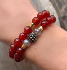 Carnelian-Bracelet-Stack