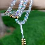Crystal Gold Mala