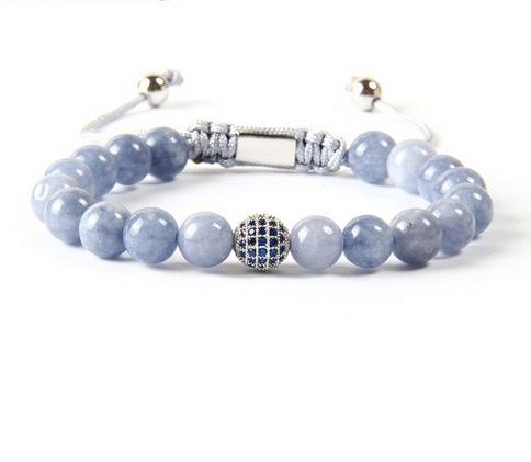 Aquamarine Jade Bracelet