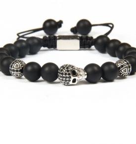 Skully Micro-Pave Bracelet