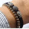 Bracelet Gold Buddhas