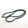 moss agate stretch mala prayer beads